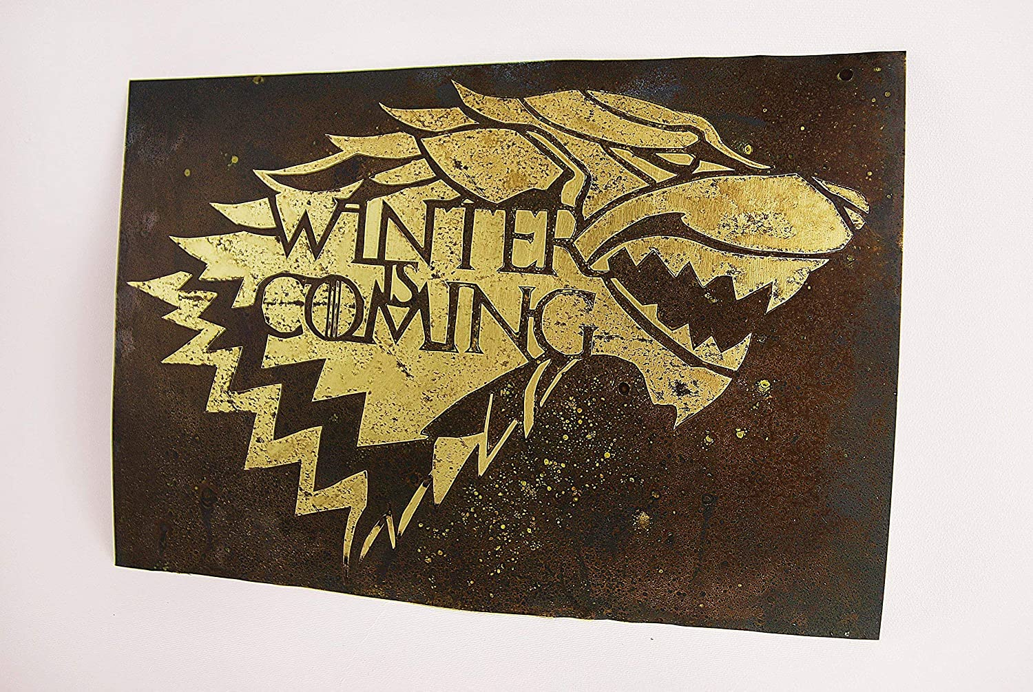 Amazon Com Winter Is Coming Game Of Thrones Inspired Fan Art Wall