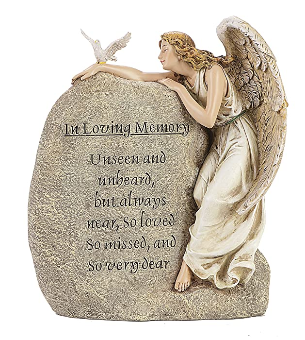 Roman in Loving Memory Angel, Dove and Verse