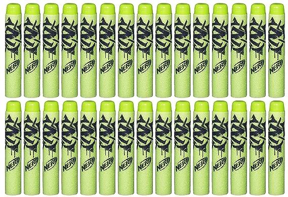 Nerf Paquete de Dardos de Repuesto Zombie Strike A4570EU40 de la Marca: Amazon.es: Juguetes y juegos