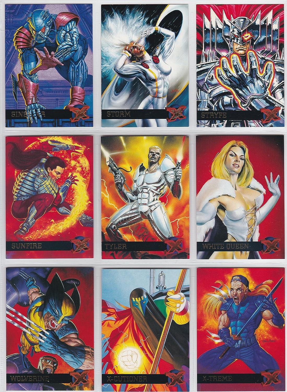 X-Men Fleer Ultra 1995 Complete 150 Card Trading Card Set