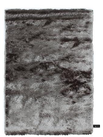 Benuta Shaggy Hochflor Teppich Whisper Grau 80x150 Cm
