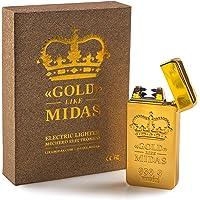 LIKE MIDAS - GOLD - Mechero eléctrico