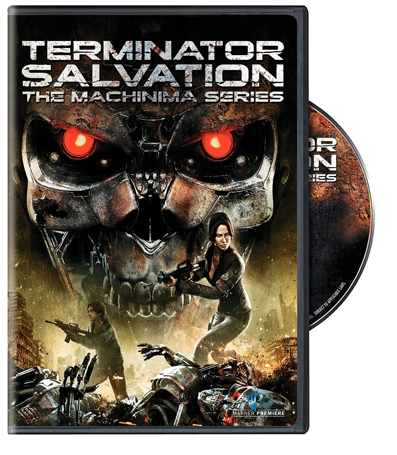 Terminator Salvation: The Machinima Series Moon Bloodgood Cam Clarke Jim Meskiman Heather Halley
