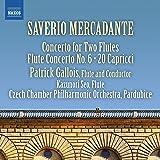 Mercadante: Concerto for Two Flutes; Flute Concerto No. 6; 20 Capricci [Patrick Gallois; Kazunori Seo; Patrick Gallois] [Naxos: 8573742]