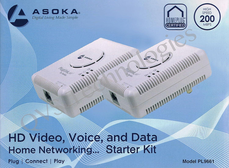 2 Asoka Pluglink Av 9661s Starter Kit
