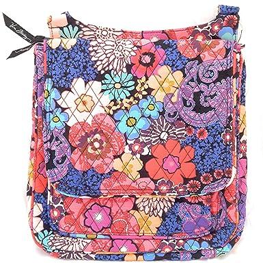 Vera Bradley Mailbag Cross-Body Bag (Floral Fiesta)  Handbags ... 4b7d8172f3355