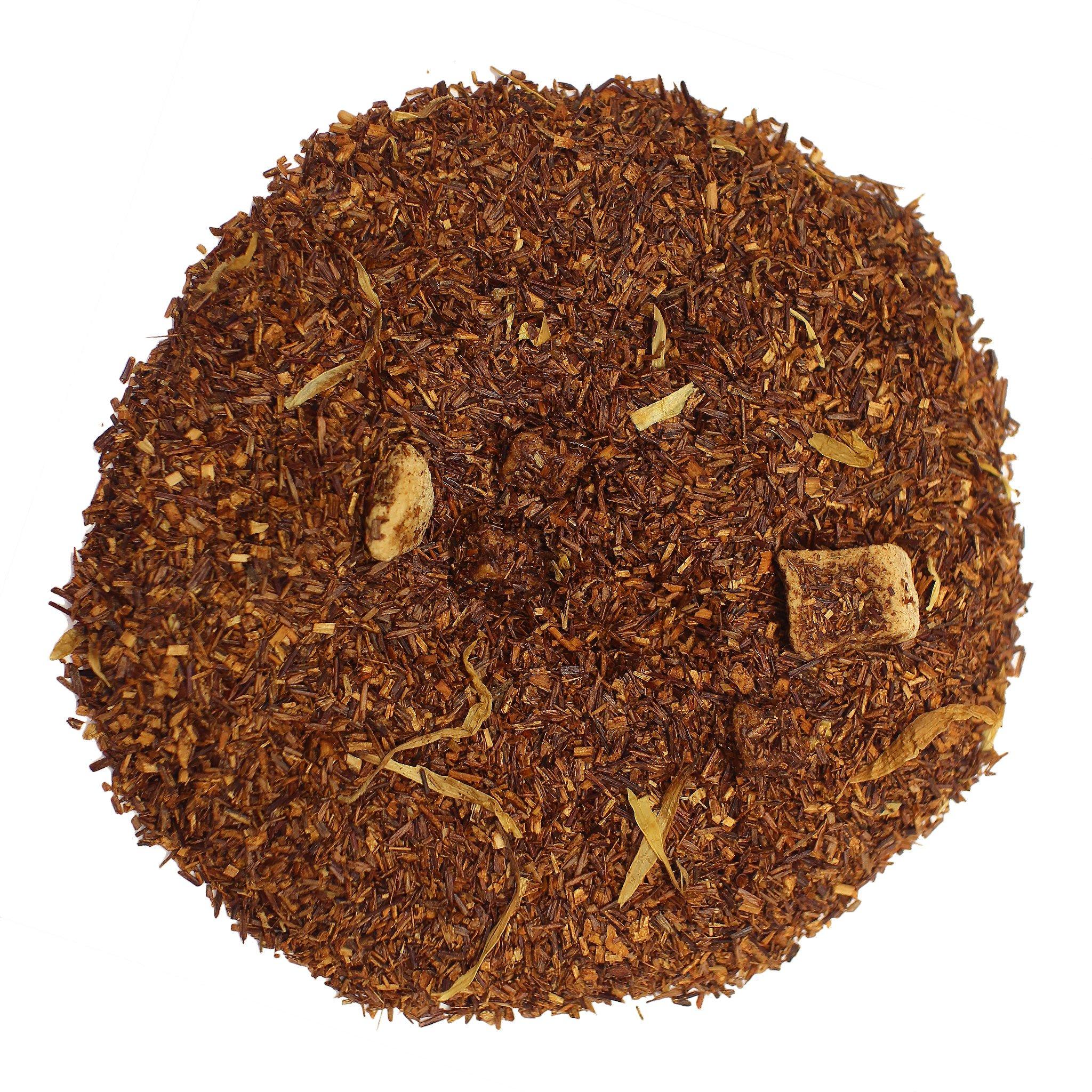 The Tea Farm - Mango Rooibos Herbal Fruit Tea - African Loose Herbal Tea (16 Ounce Bag) by The Tea Farm