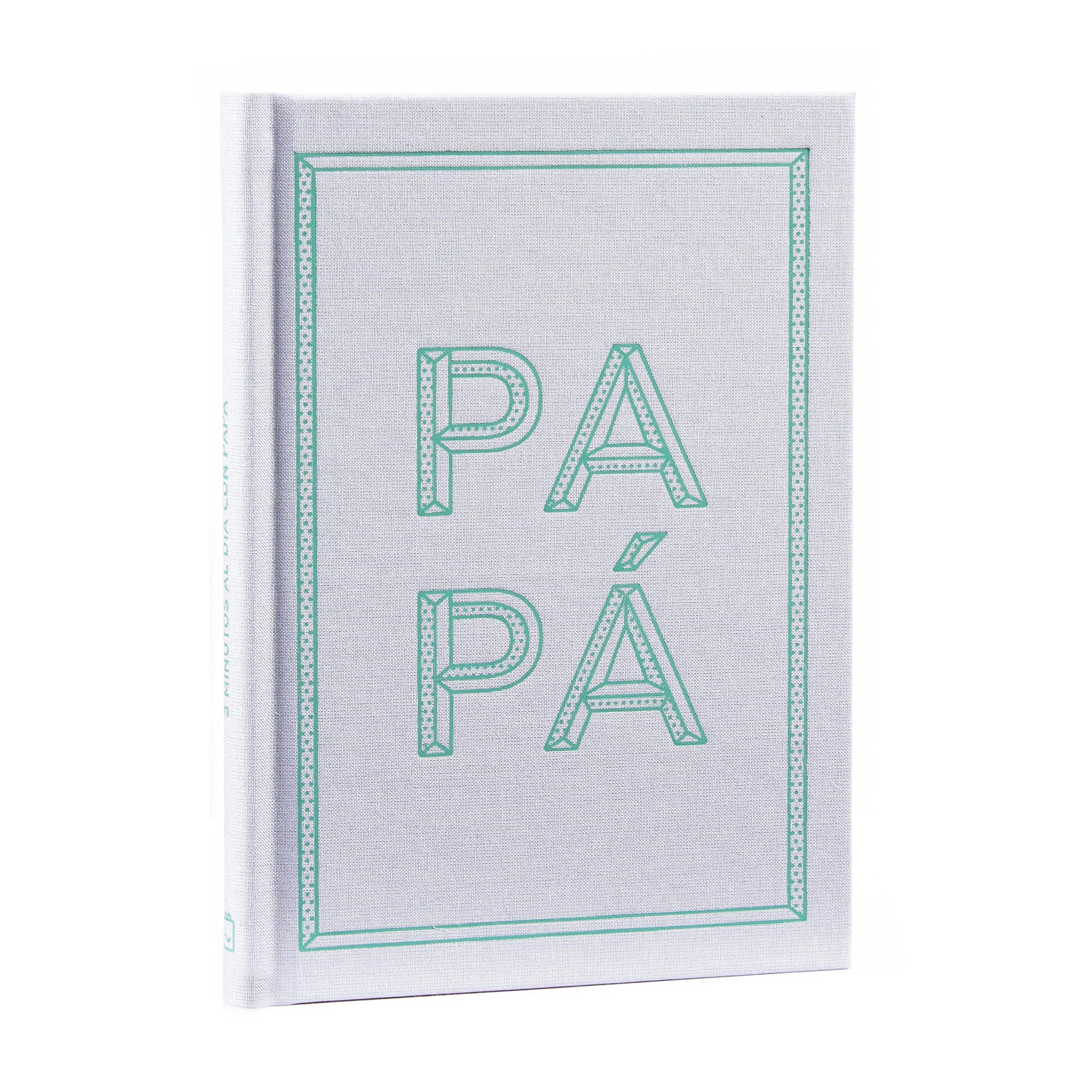 Libro Diario 3 minutos al día con papa. Regalo padres, padre ...
