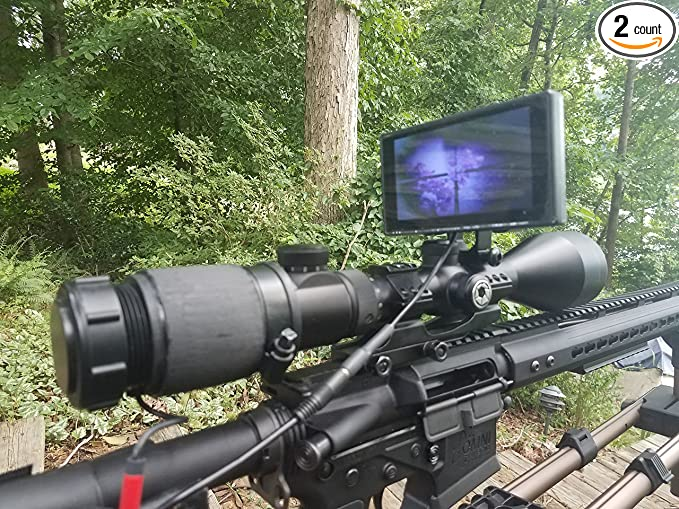 Digital Crosshairs Clip-On NV 1000 - The Best For Beginners
