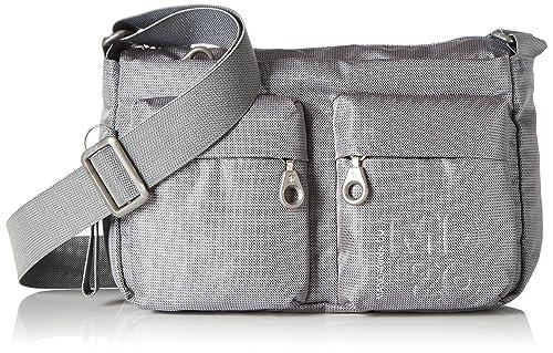 molto carino 77b86 00a24 Mandarina Duck Md20 Minuteria, Women's Shoulder Bag, Grey ...