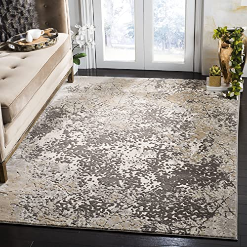 Best living room rug: Safavieh Vogue Collection VGE771A Modern Abstract Area Rug