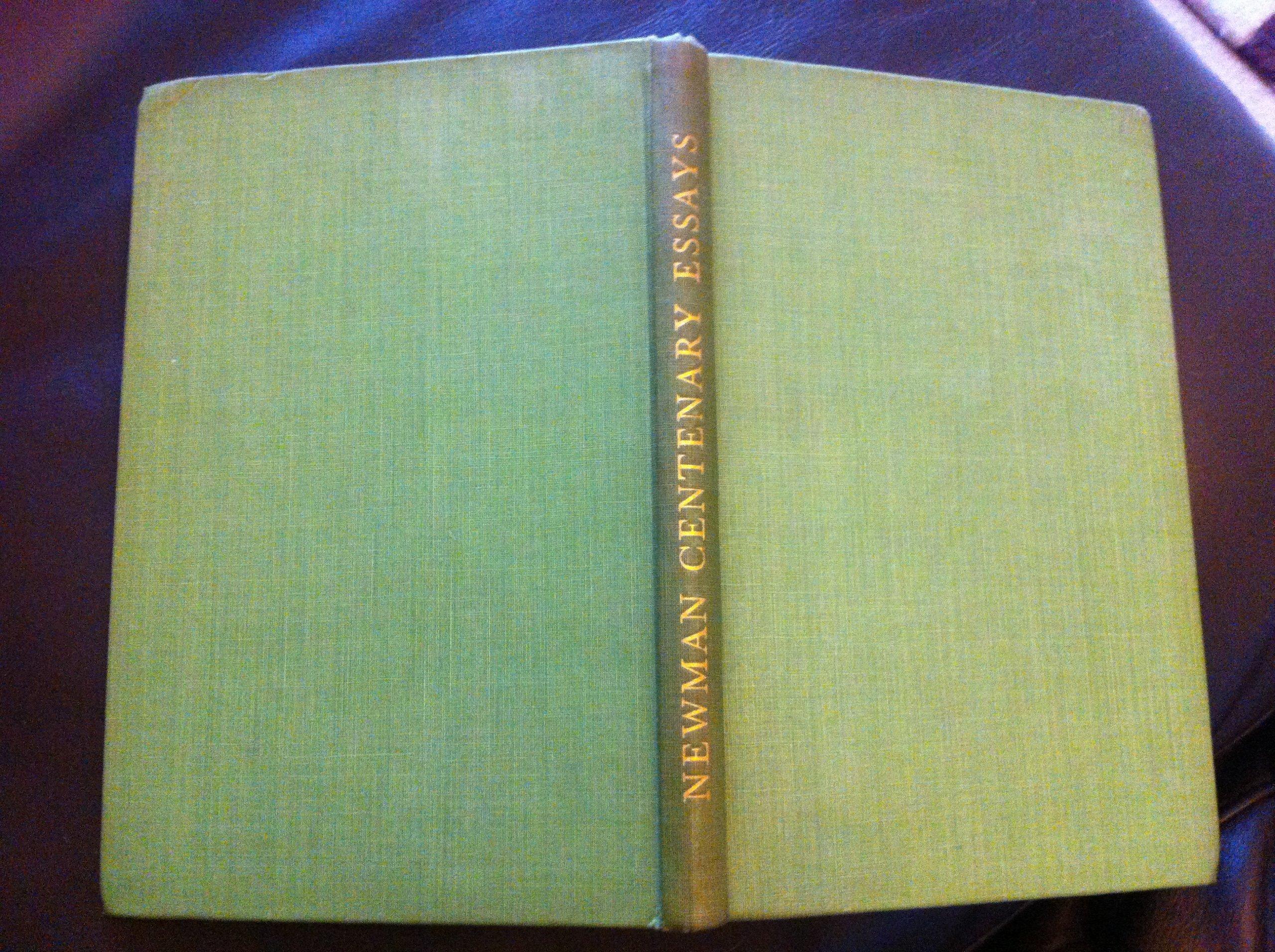 John Henry Newman: Centenary Essays
