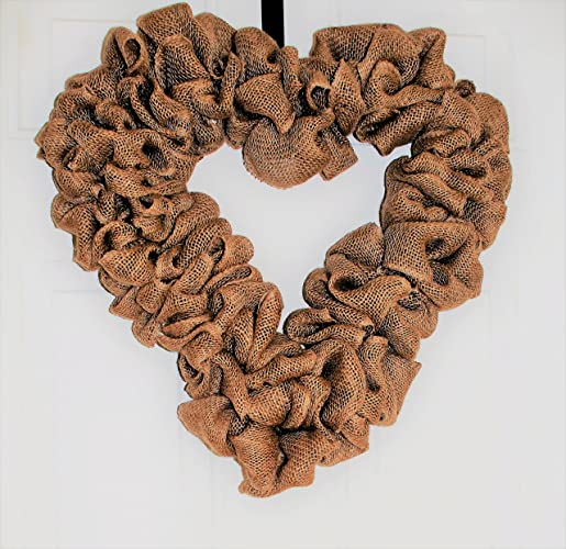 Amazon Com Valentines Day Wreath Burlap Wreath Heart Wreath