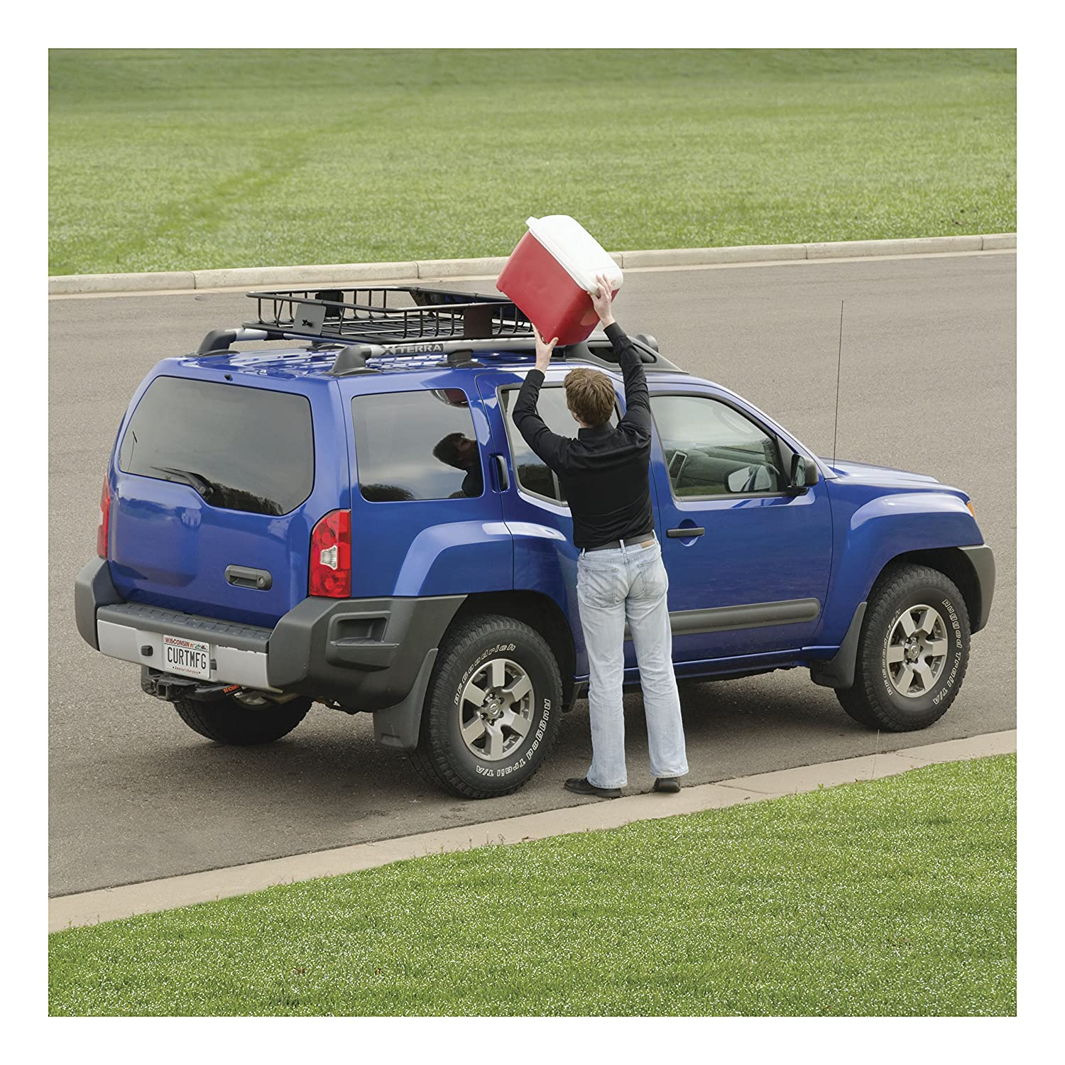 CURT Roof Rack Cargo Carrier O...