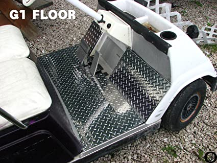 YAMAHA G1 golf cart Diamond Plate Floor