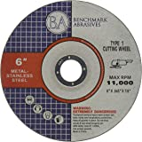 "4.5""x.045x7/8"" Pro Metal Steel & Stainless Steel Cutting Cutoff Wheel - 25 Pack"