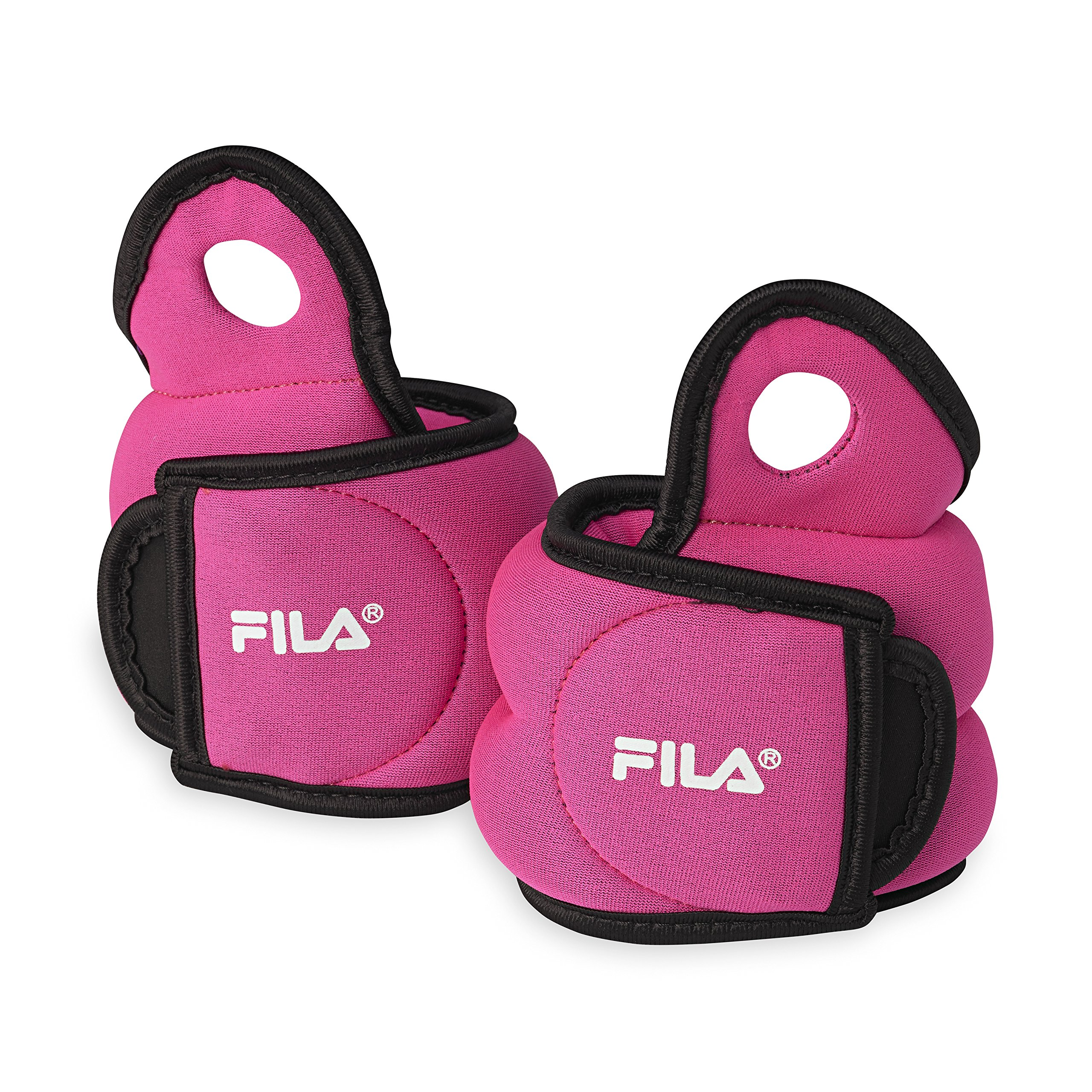 FILA Accessories Wrist Weights Set, 4lb Set (2lbs Each) by FILA Accessories