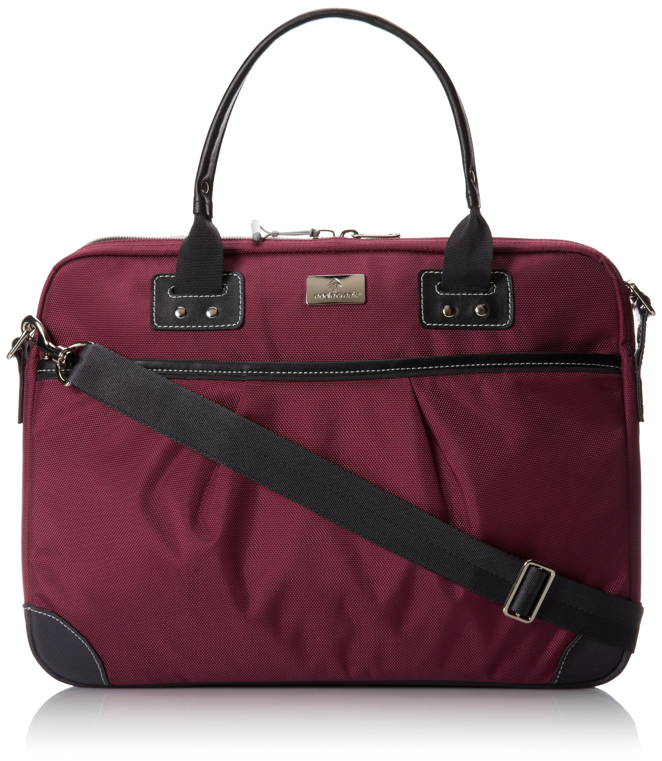 Eagle Creek Luggage Audine Laptop Briefcase, Berry, One Size