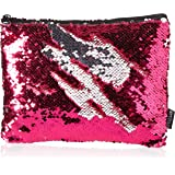 Style.Labs Magic Sequin Pouch, Pink/Silver (76407)