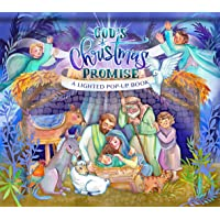 God's Christmas Promise: A Lighted Pop-Up Book