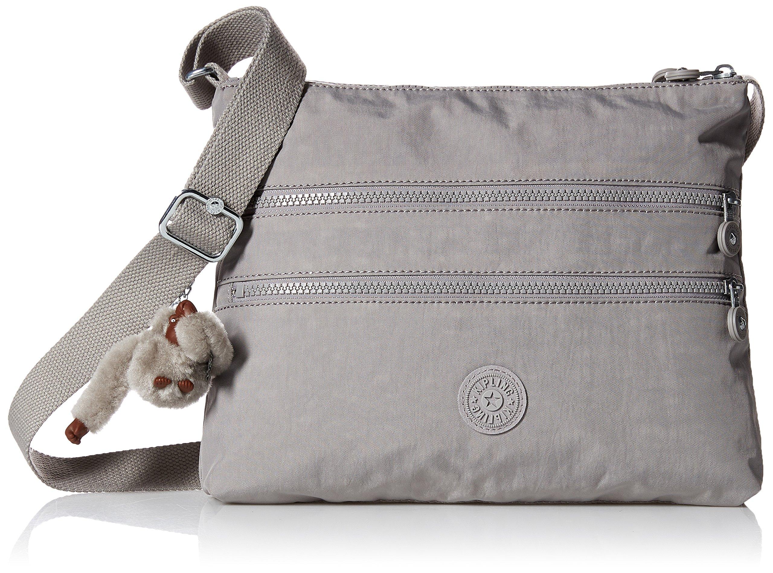 Kipling Alvar Slate Grey Tonal Crossbody Bag, Slate Grey t