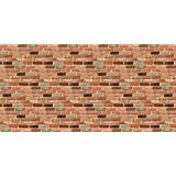Fadeless Designs Bulletin Board Art Paper, 4-Feet by 50-Feet, Reclaimed Brick (57465)