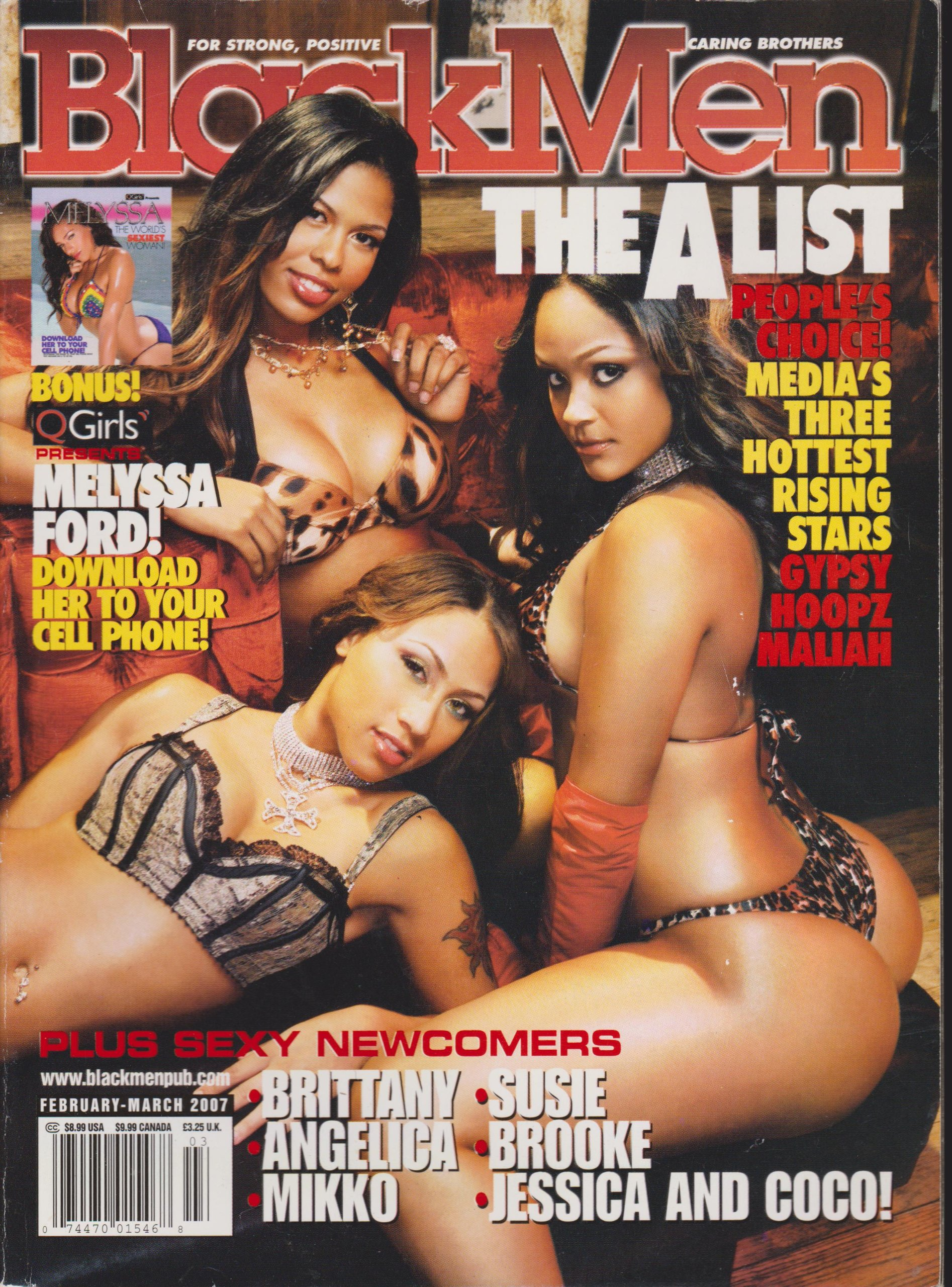 "BLACK MEN MAGAZINE FEBRUARY MARCH 2007 ""THE A LIST"" ebook"