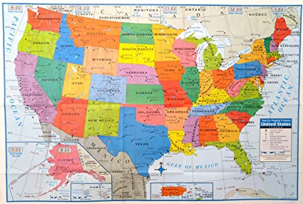 superior mapping company united states poster size wall map 40 x 28 with cities 1