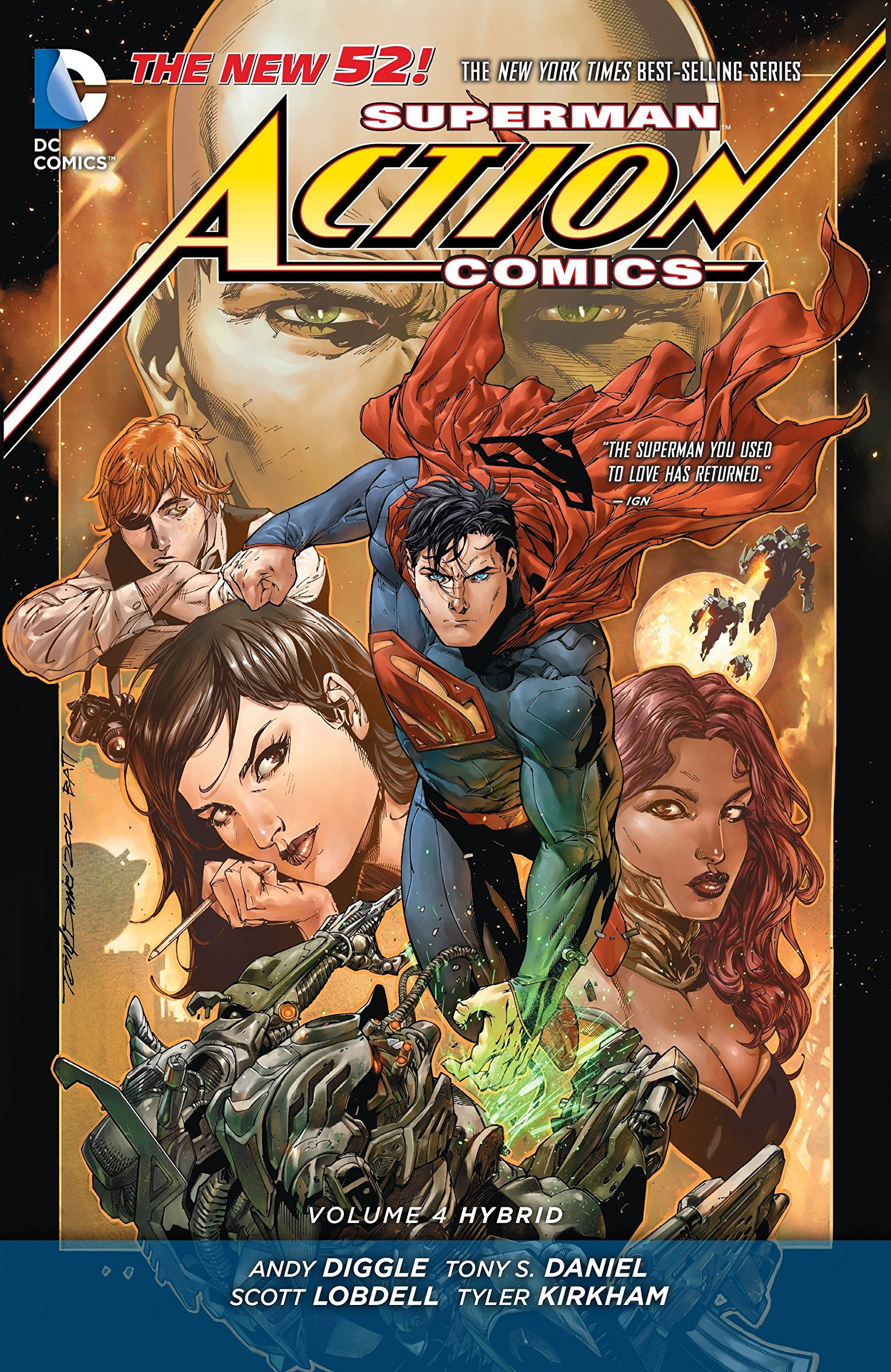 Read Online Superman: Action Comics Vol. 4: Hybrid (The New 52) PDF Text fb2 ebook