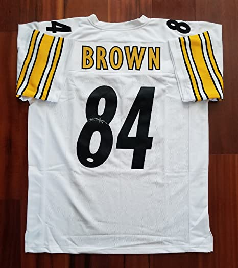 Image Unavailable. Image not available for. Color  Antonio Brown  Autographed Signed Jersey Pittsburgh Steelers JSA 93ca997d5