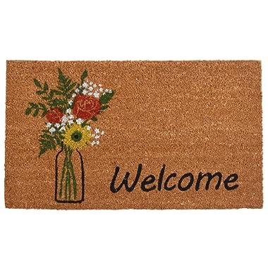 Home & More 103381729 Summer Bouquet Doormat