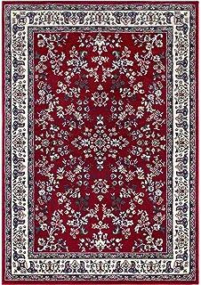Klassischer Orientteppich Perserteppich Orientteppich   Ornamente Muster  Webteppich Kurzflorteppich   In Rot 160 X 230 Cm