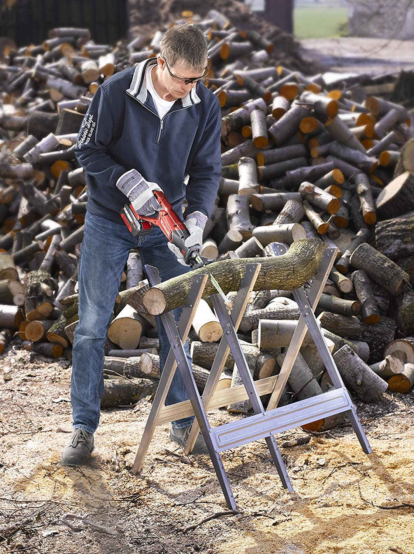 L/änge 240//218 mm kwb AKKU TOP S/äbels/äge-Bl/ätter im praktischen Zweier-Set f/ür Holz S/ägeblatt aus HCS Kohlenstoffstahl Made in Germany
