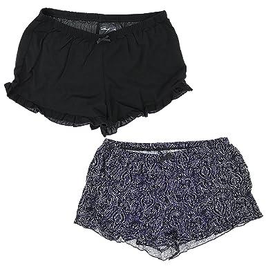 1db1b2267c086 Marilyn Monroe Intimates Women s Sleepwear Pajama Shorts (2 Pair) at ...