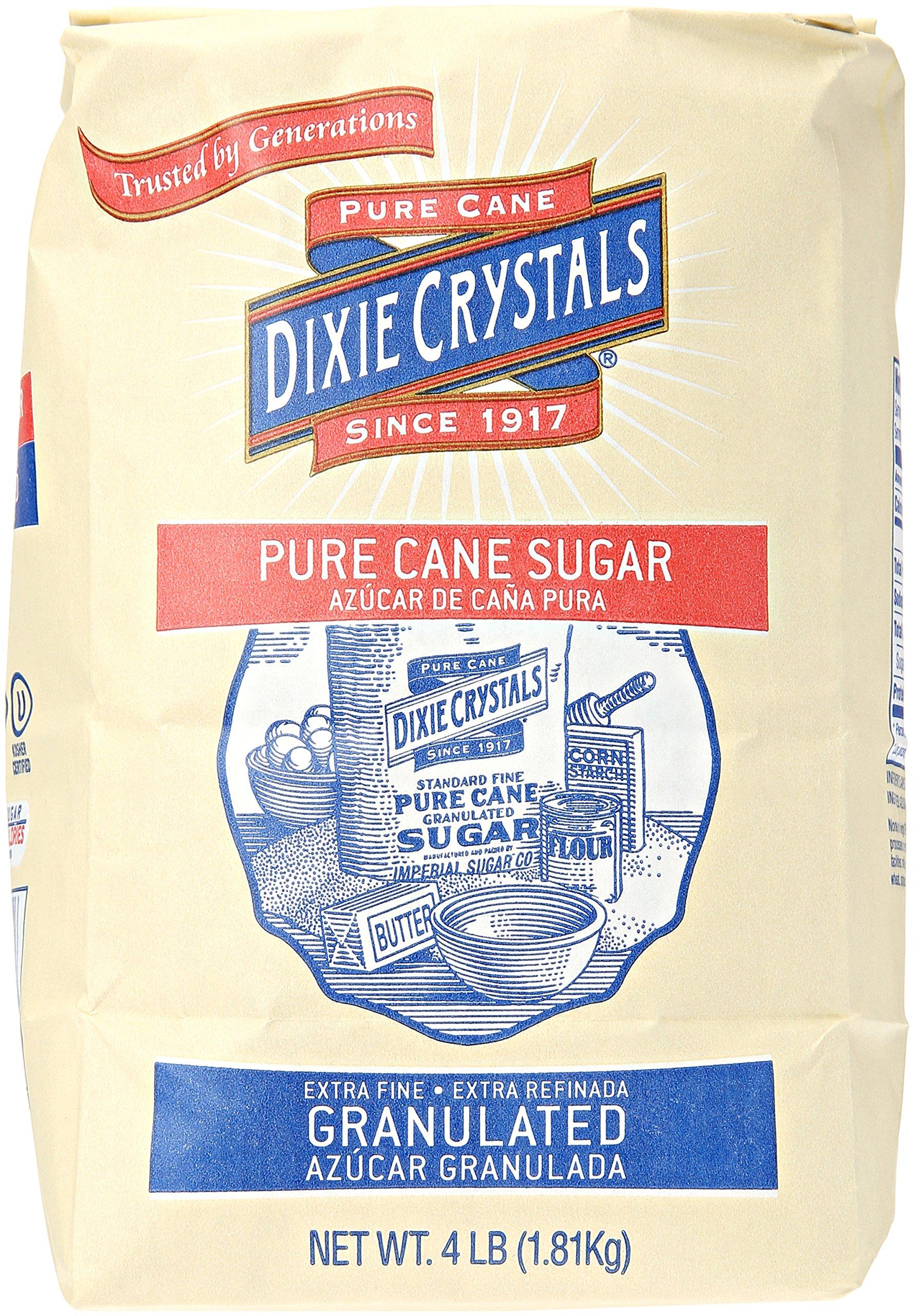 Imperial Sugar Dixie Crystals Pure Cane Sugar, 4 lb