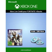 Crédit Xbox Live  pour Fortnite - 1,000 V-Bucks | Xbox One - Code jeu à télécharger
