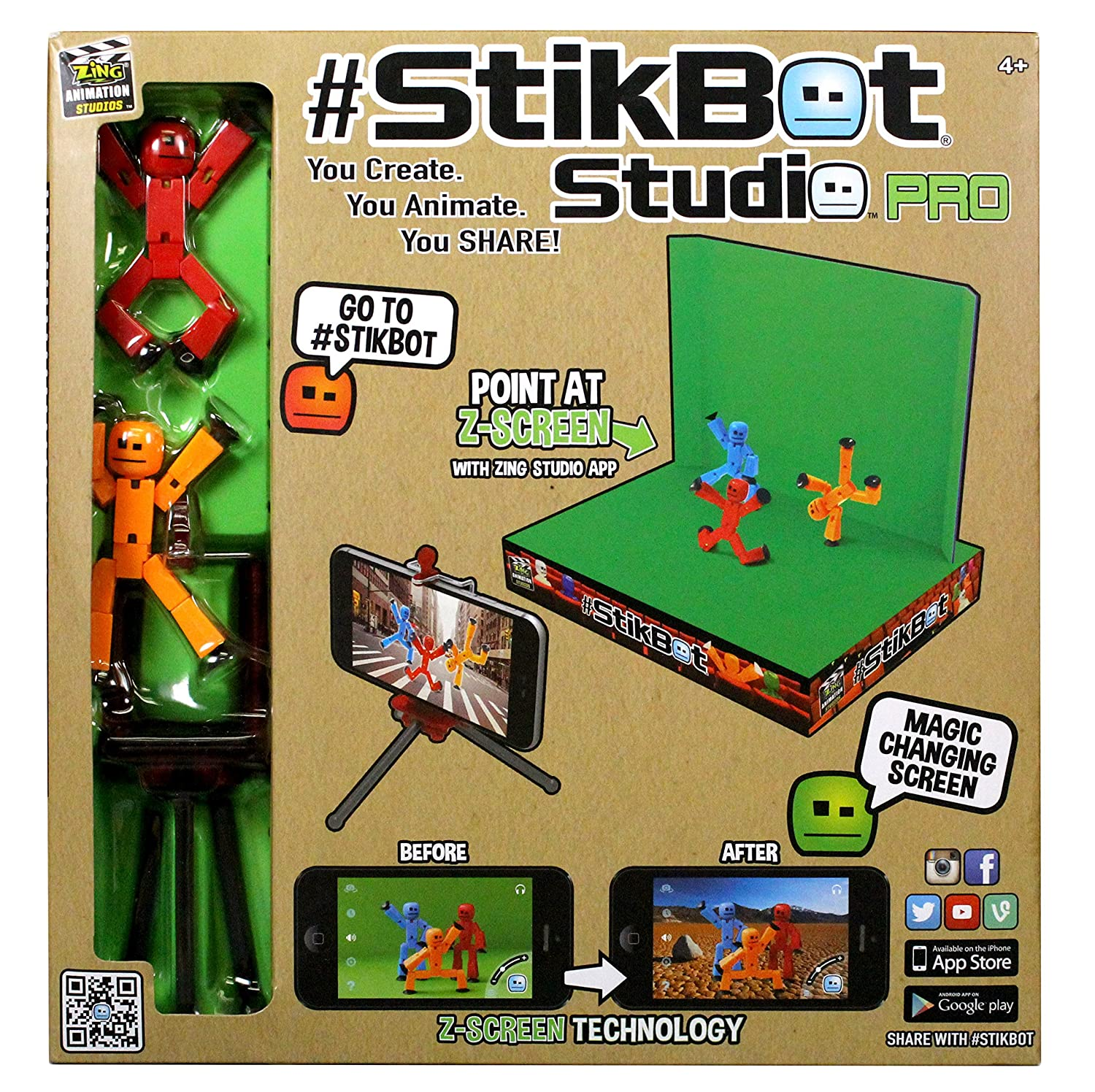 You can buy the Zing Stikbot Studio Pro Toy Figure here