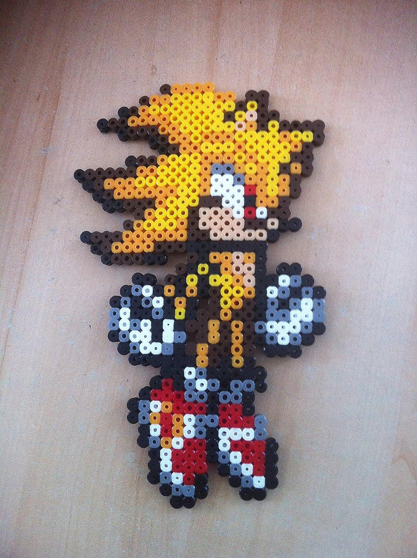 Pixel Art Hama Beads Sonic Personnage Amazonfr Handmade