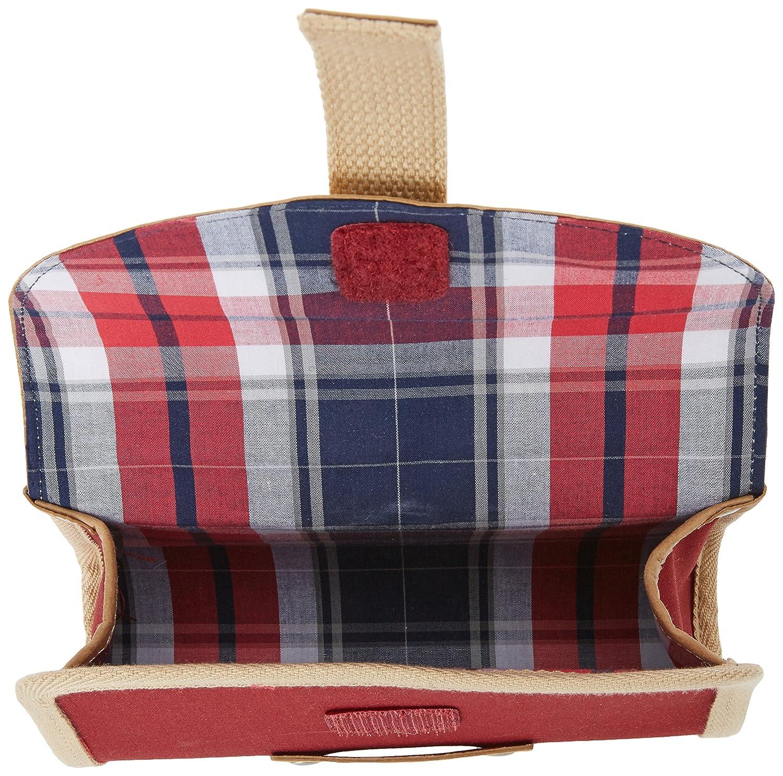 Saddle Bag Basil Portland Saddlebag Dark Red