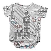 Big Ben London Infant One Piece Snapsuit Bodysuit 6 Months
