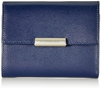 bas prix e2190 4b1af Mandarina Duck Hera 3.0, Portefeuille Femme, Bleu (Blu/Dress ...