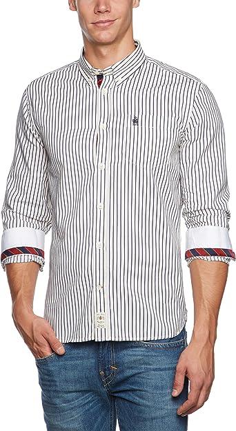 Pepe Jeans Dan - Camisa a rayas para hombre, talla 37, color (aa multi 000): Amazon.es: Ropa y accesorios