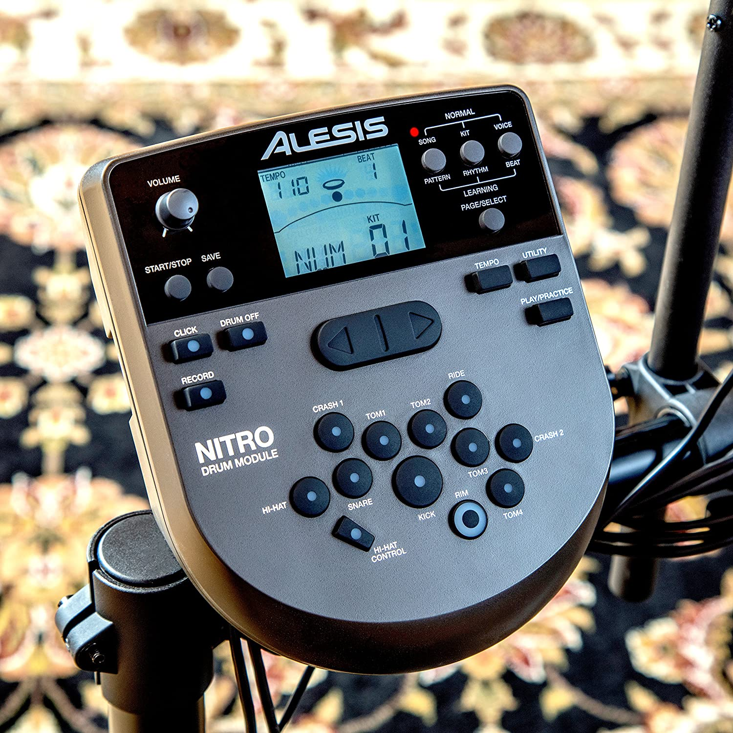 Nitro drum kit module for alesis nitro mesh kit