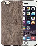 iPhone 6 / iPhone 6s Cover (legno di noce) da PITAKA Aramidcore - 4.7 pollici ultra sottile 1 mm Premium Lightweight 20g backcover, con Protezione Dello Schermo Cristallo Temperato