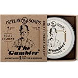 The Gambler Bourbon-inspired Solid Cologne - The warm smell of whiskey and tobacco,