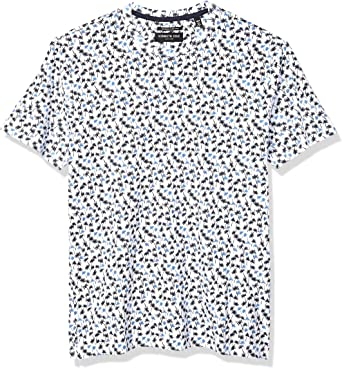 Kenneth Cole New York Mens Short Sleeve Graphic Tee