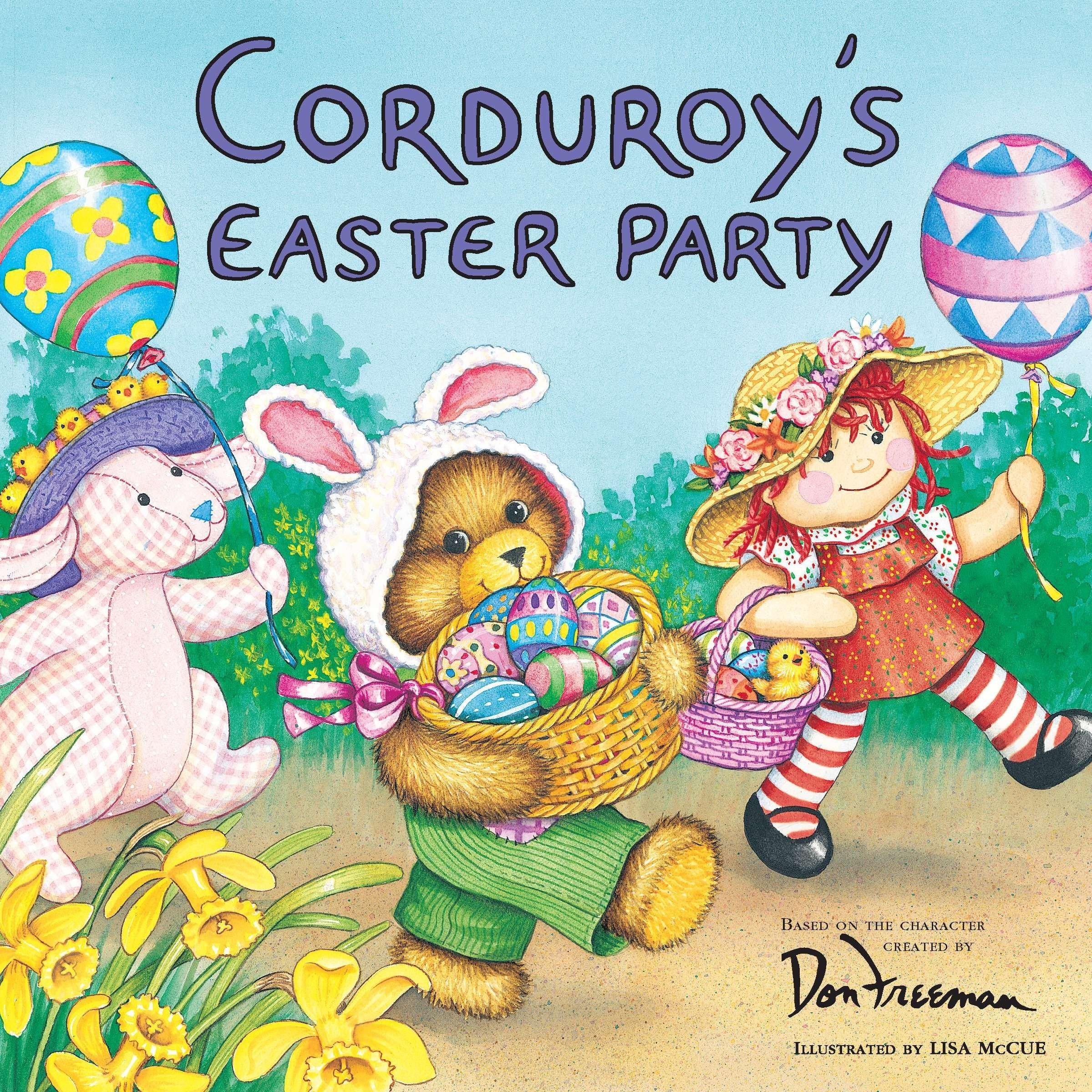 corduroy s easter party don freeman lisa mccue 0038332179781