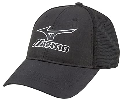 0fdc2e89d6f Amazon.com   Mizuno 2018 Tour Fitted Cap Hat   Sports   Outdoors