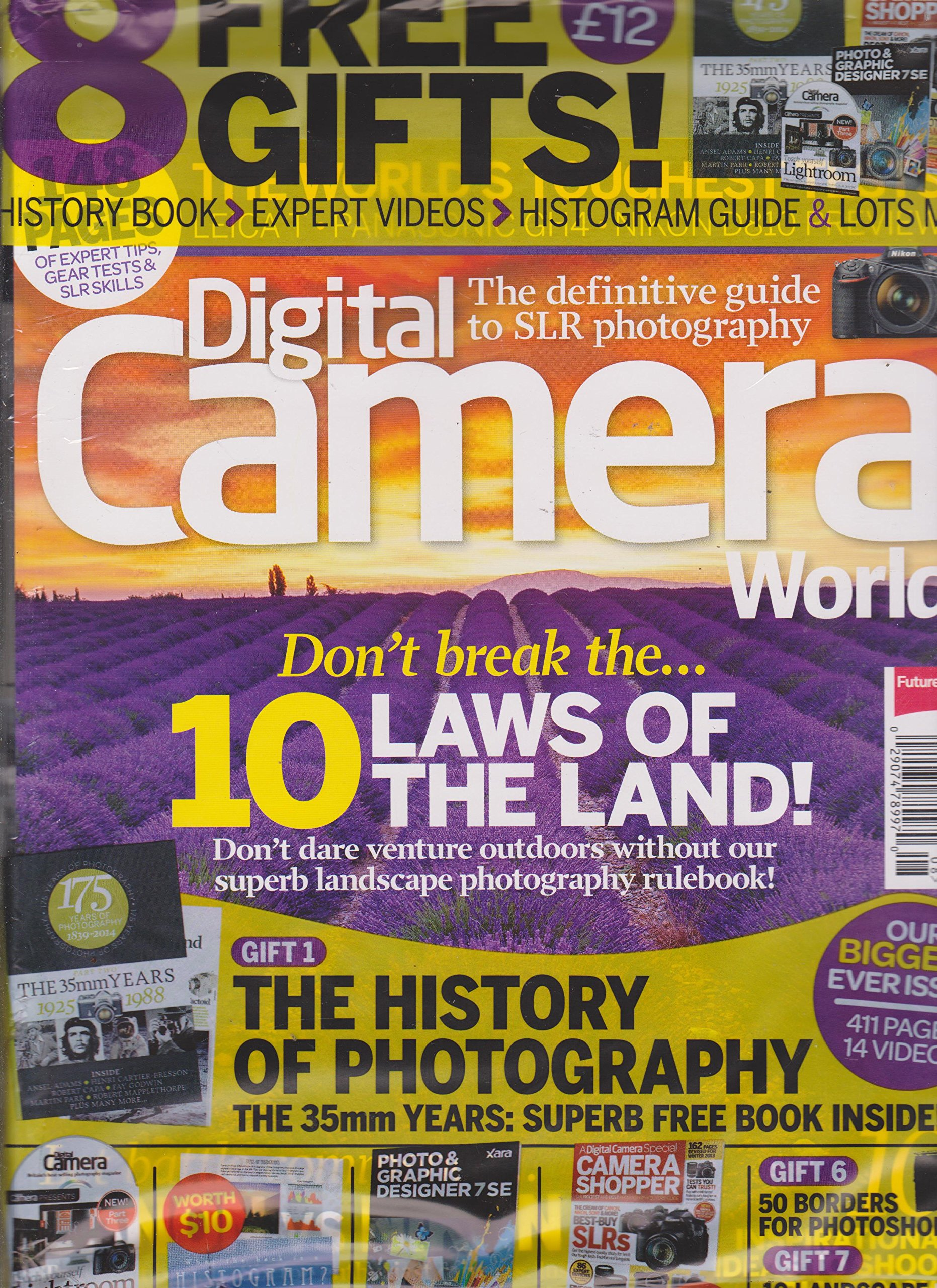 Download Digital Camera World Magazine August 2014 PDF