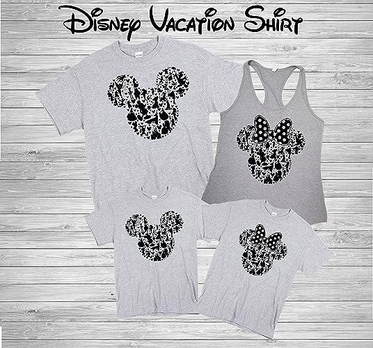 Disney Family Shirts Disney Shirts Disney Family Shirts Mickey Minnie Custom T Shirt Personalized Disney Shirts For Family Shirts Matching D23